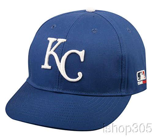 Kansas City Royals ADULT Adjustable Hat MLB Officially Licensed Major League Baseball Replica Ball Cap (Kansas Royals City Hats)