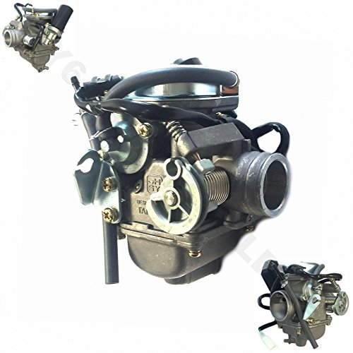 HIGH PERFORMANCE CARBURETOR 125-150cc 152QMI 157 QMJ 24.5MM GY6 CHINESE 4-STROKE SCOOTER MOPED ATV TAOTAO ROKETA JMSTAR ZNEN JONWAY BMS VIP SUNL TANK PEACE BENZHOU AND MANY - Carburetor Performance High
