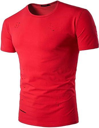 LaoZan Camisa con Manga Corta para Hombre, Camiseta T-Shirt ...