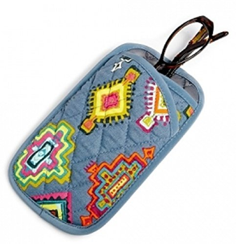 Vera Bradley Double Eye Case in Painted Medallions ()