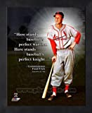 Stan Musial St. Louis Cardinals Pro Quotes Framed 11x14 Photo #2