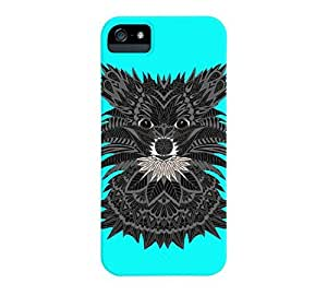 Pomeranian Puppy iPhone 5/5s Aqua Barely There Phone Case - Design By Humans