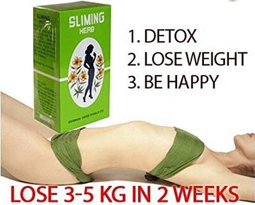 100 Bags German Herb Slimming Tea Diet Fit Slimming Fast Slim Detox Lose Weight.