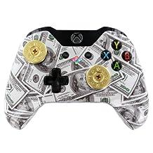 """Money Talks Brass Thumbsticks"" Xbox ONE Custom Modded Controller Exclusive D..."