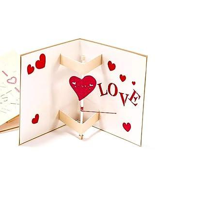Tarjetas de cumpleaños 3D desplegables, tarjetas de ...