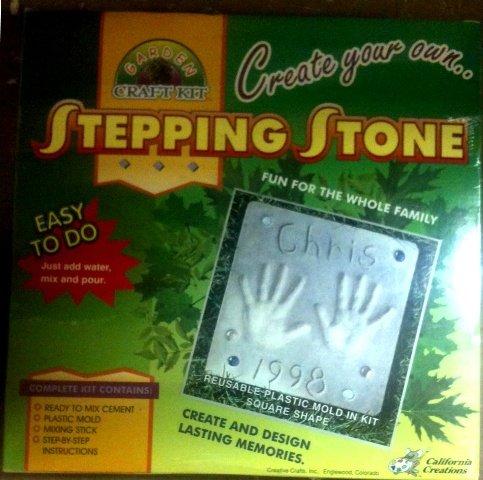 Garden Craft Kit Stepping Stone (Craft Kit Garden)