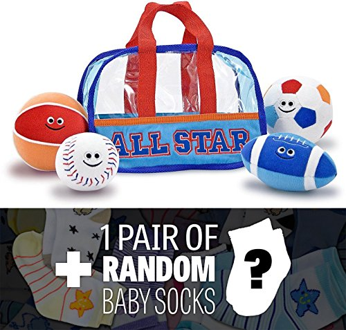 Sports Bag Fill & Spill + 1 FREE Pair of Baby Socks Bundle [30533]