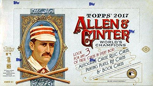 2017 Topps Allen & Ginter MLB Baseball HOBBY box ()