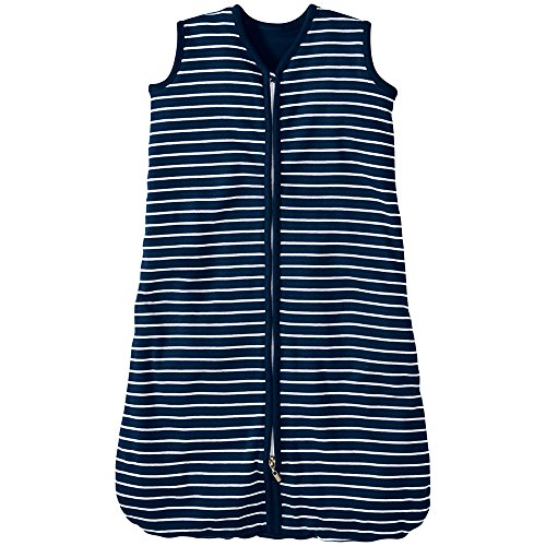 Hanna Andersson Baby Hanna Baby Wearable Blanket, Size XS, Navy