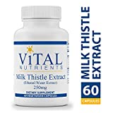 Vital Nutrients – Milk Thistle Extract (Ethanol/Water Extract) 250 mg – Supports Healthy Liver Function and Acts as an Antioxidant – 60 Capsules Review