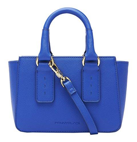 Pennyblack Selce, Borsa a Mano Donna, 22x17x7 cm (W x H x L) Blu (Bluette)