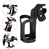 AumoToo Bike Cup Holder, 360 Degrees Rotation Drink Water Bottle Cages Stroller Cup Holders for Bicycles, Mountain Bikes, Baby Strollers and Wheelchair