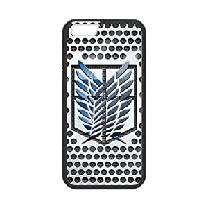 Fashion Attack on Titan Protective Hard Durable Rubber Coated Case Cover for iPhone 6 4.7 inch