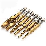 GORCHEN Drill Tap Bit Tool Kit Set Titanium