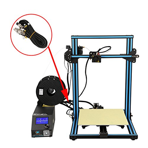 Wisamic Extension Cable Kits for Creality CR-10 CR-10S CR-10 400 CR-10 500 Series 3D Printer-1 Meter