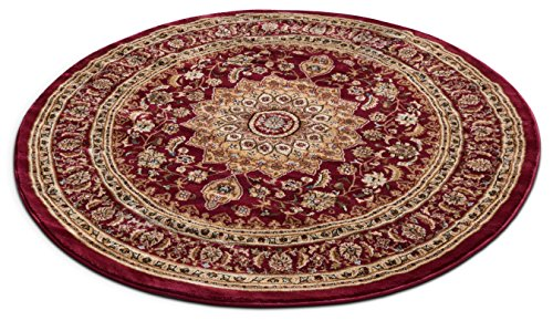 Well Woven 36400 Timeless Aviva Traditional French Country Oriental Red Area Rug 5'3