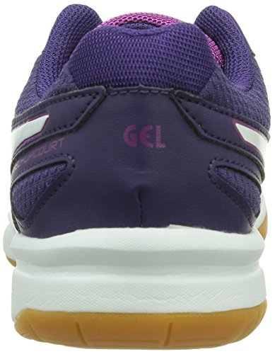 Femme Badminton 3301 Gel Chaussures Violet white Asics purple fuchsia De upcourt 6qXZIxxP4