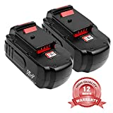 2-Pack 18V 3.6Ah PC18B for Porter Cable Replacement Battery, Ni-MH Battery for Porter Cable PC18BL PC18BLX PC18B-2 PCC489N PCMVC PCXMVC Cordless Tools