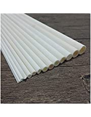Durable 200mm Length 3.5-35mm ID High Temperature Resistant Wear Ceramic Tube Corundum Hollow Insulating Alumina Burning Pipe Wearable (Specification : 19mm(ID) x25mm(OD))