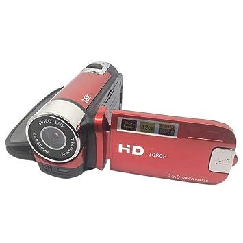 ZYJ Ultra HD 180 Grados de rotación de la cámara Digital, cámara ...