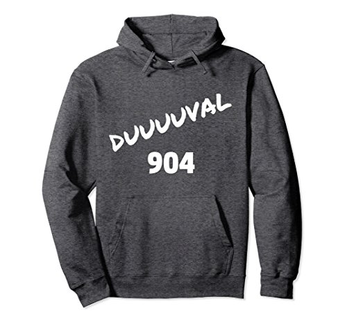 Unisex Original DUUUUVAL, Duval Jacksonville Florida Hoodie Medium Dark - Town Center The Jacksonville