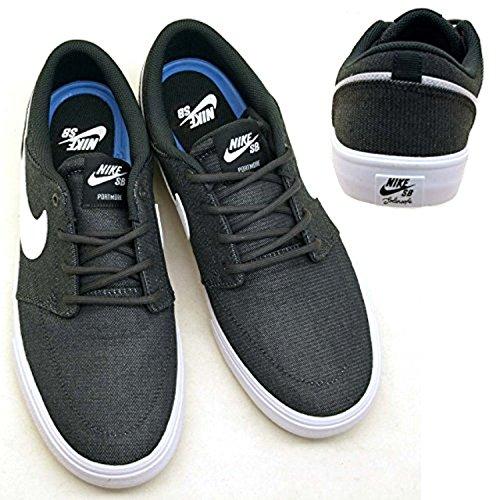 Nike Air Trainer Huarache 94 Herren Basketballschuhe Grau weiß