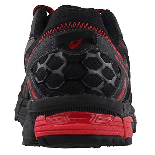 ASICS Mens Gel-Kahana 8 Running Shoe Black/Classic Red/Phantom 6 Medium US by ASICS (Image #2)