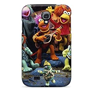 Awesome Fraggle Rock Flip Case With Fashion Design For Galaxy S4