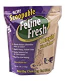 Scoopable Feline Fresh Clumping Natural Pine Cat Litter