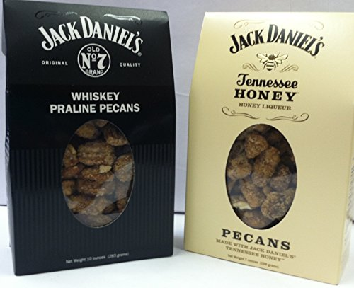10 Oz Size Jack Daniel's Whisky and 7oz Tennessee Honey Liqueur