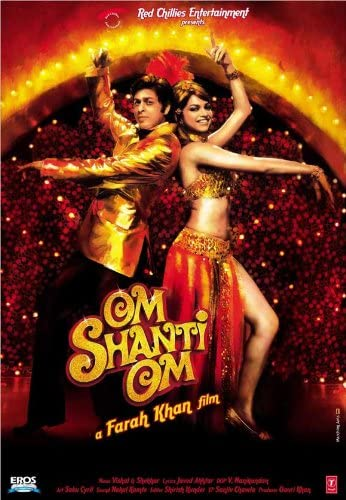 Amazon.com: Om Shanti Om POSTER Movie (11 x 17 Inches - 28cm x 44cm) (2007)  (Indian Style F): Posters & Prints