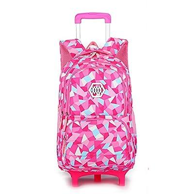 Meetbelify Kids Rolling Backpacks Luggage Six Or Two Wheels Unisex Trolley  School Bags chic 7063010bf6618
