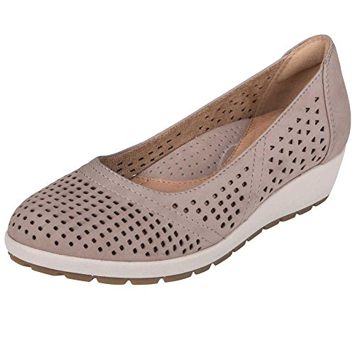 Soft Violet Slip On Earth Womens Buck Taupe X1gnP