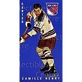 Camille Henry Hockey Card 1994 Parkhurst Tall Boys 64-65 #107 Camille Henry