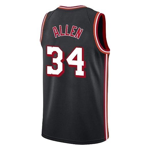 NBALL-HU Camiseta De Baloncesto Negra para Hombre - Camiseta De ...