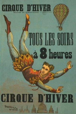 Cirque D'hiver Circus Performer Hot Air Balloon France French Europe 12