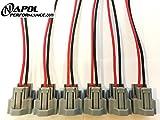 FITS Nippon Denso Fuel Injector Connectors FITS