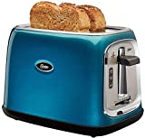Oster 2-Slice Toaster Metallic Turquoise Blue