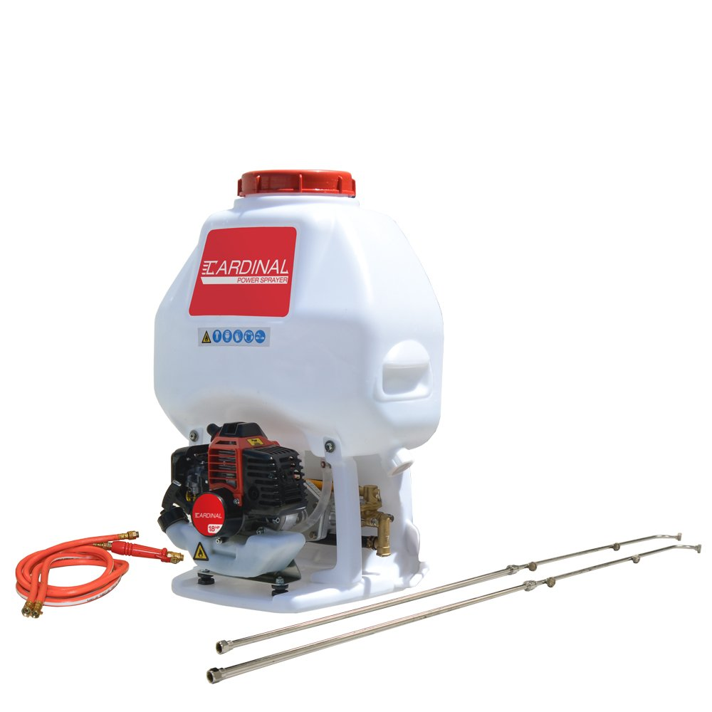 Cardinal CPS435 Gas Powered Backpack Sprayer with 6.5 Gallon Tank for Pest Control (Includes Wands) by Cardinal (Image #1)