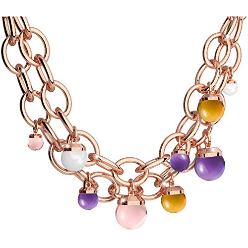 Collier Femme Bijoux Rebecca Hollywood Stone Casual Cod. bhskrm61