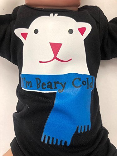 6017014f7 Amazon.com  I m Beary Cold Baby Outfit