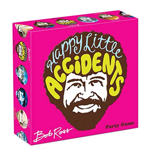 Big G Creative Bob Ross: Happy Little Accidents Game