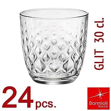 Bormioli Rocco/-/Juego de vasos de la colecci/ón Glit 30/con capacidad de 30/cl