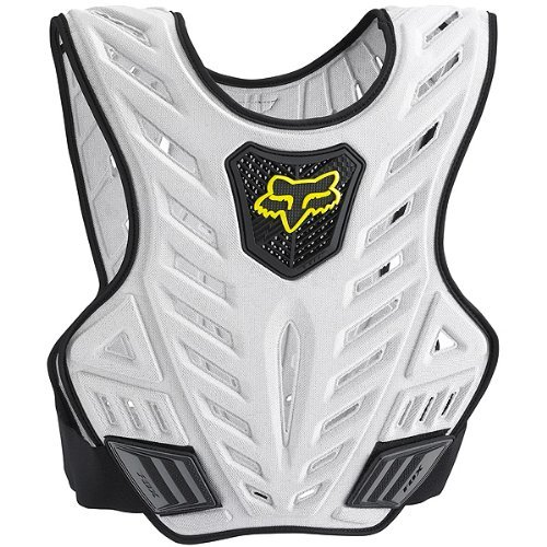 Subframe Body (Fox Racing Titan Sport Subframe Men's Roost Deflector Motocross/Off-Road/Dirt Bike Motorcycle Body Armor - Black/Silver / Small/Medium by Fox Racing)