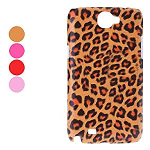Leopard Pattern Hard Case for Samsung Galaxy Note 2 N7100 (Assorted Colors) --- COLOR:Rose