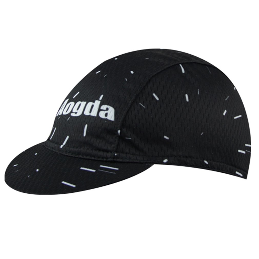 BIYINGEE Cycling Cap Polyester Fits Under Helmet Black Stars