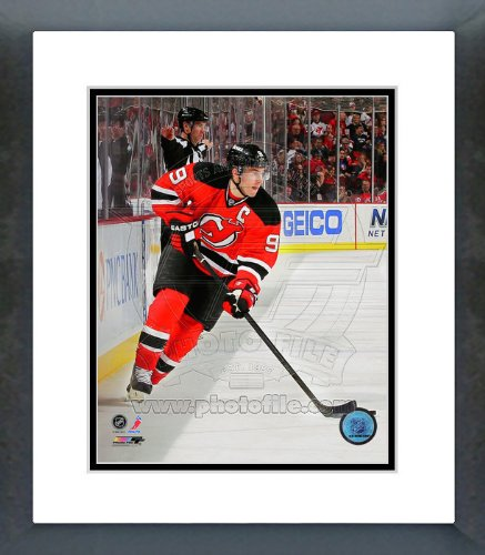 Zach Parise Framed Photo - Zach Parise New Jersey Devils 2012