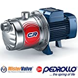Pedrollo electric water pump 3 CRm Multi-stage centrifugal pumps - 3CRm 100-N 0.6 HP Applications: Distribution of water with small and medium sized pressure tanks,irrigation of gardens