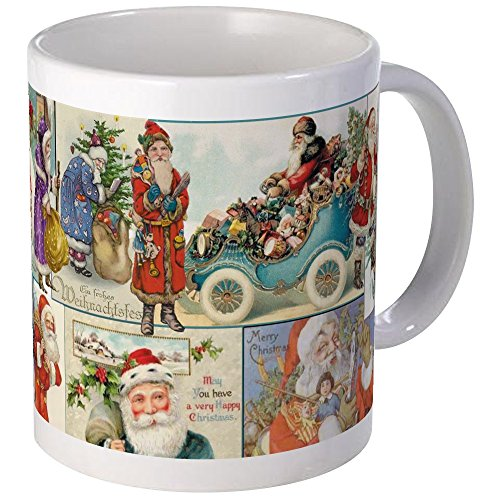 CafePress Victorian Old World Santas Coffee Mug Unique Coffee Mug, Coffee -