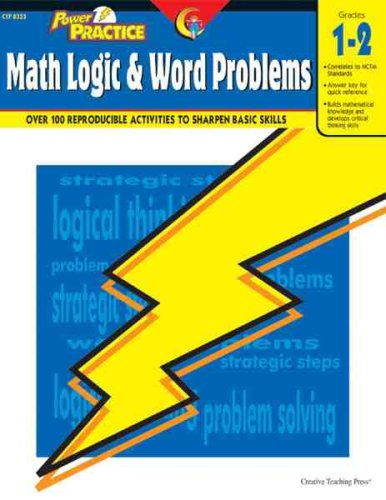 Math Logic & Word Problems, Gr. 1-2 (Power Practice)